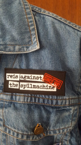 "Aufnäher Patch ""Reis Against The Nähmachine"""